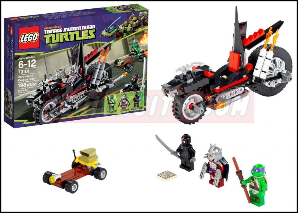 Lego 79101- Shredder's Dragon Bike | i Brick City