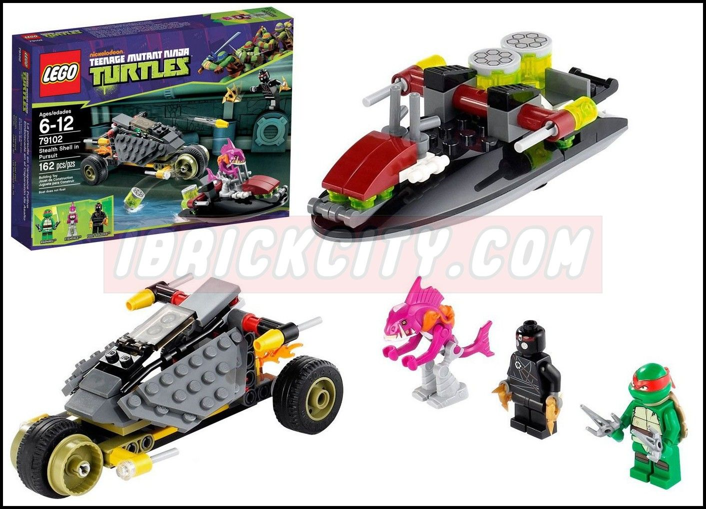 Lego 79102 Stealth Shell In Pursuit I Brick City