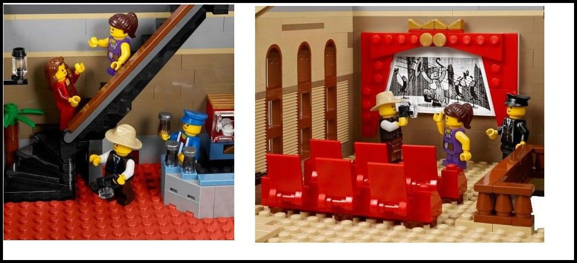 Lego 10232 The First Details Of The Palace Cinema I