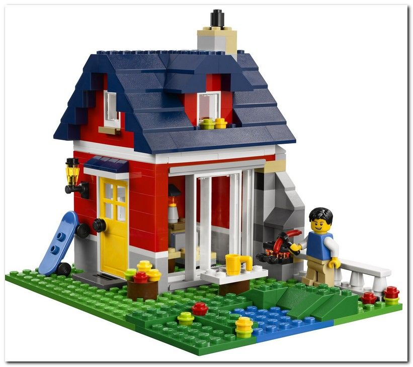 Lego 31009 Small Cottage creator ibrickcity 5 Lego 31009   Small Cottage