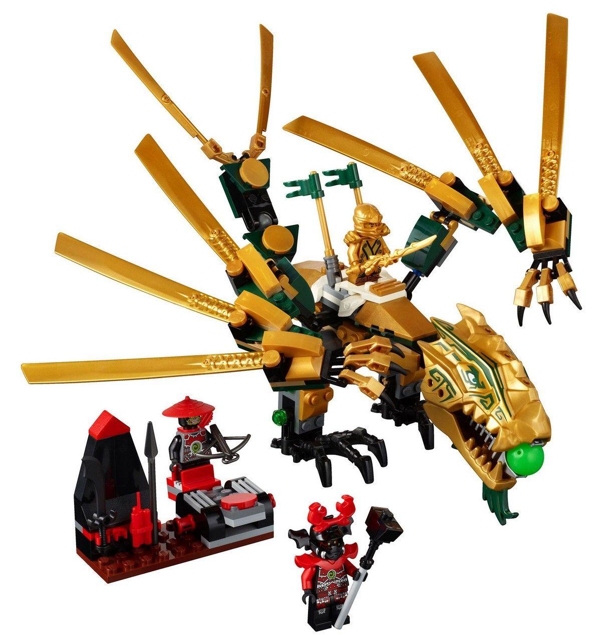 lego 70503 golden dragon ninjago ibrickcity 4 970x1024 lego 70503 the golden dragon - Ninjago Rouge
