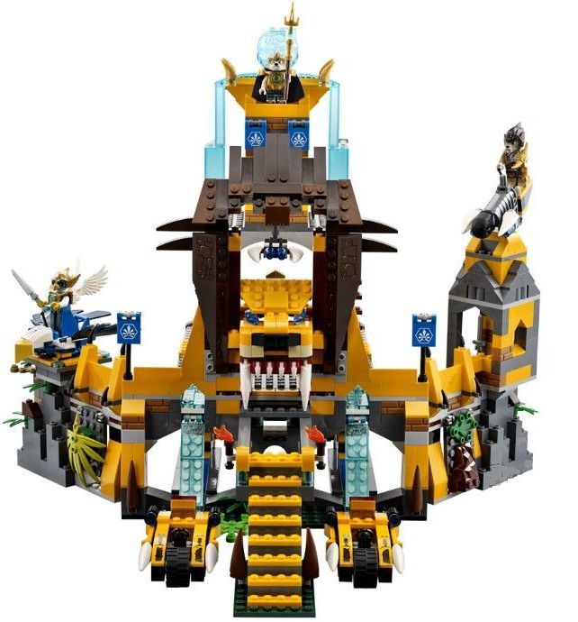 Lego70010 The Lion Chi Temple legends of chima ibrickcity 1 Lego 70010   The Lion Chi Temple