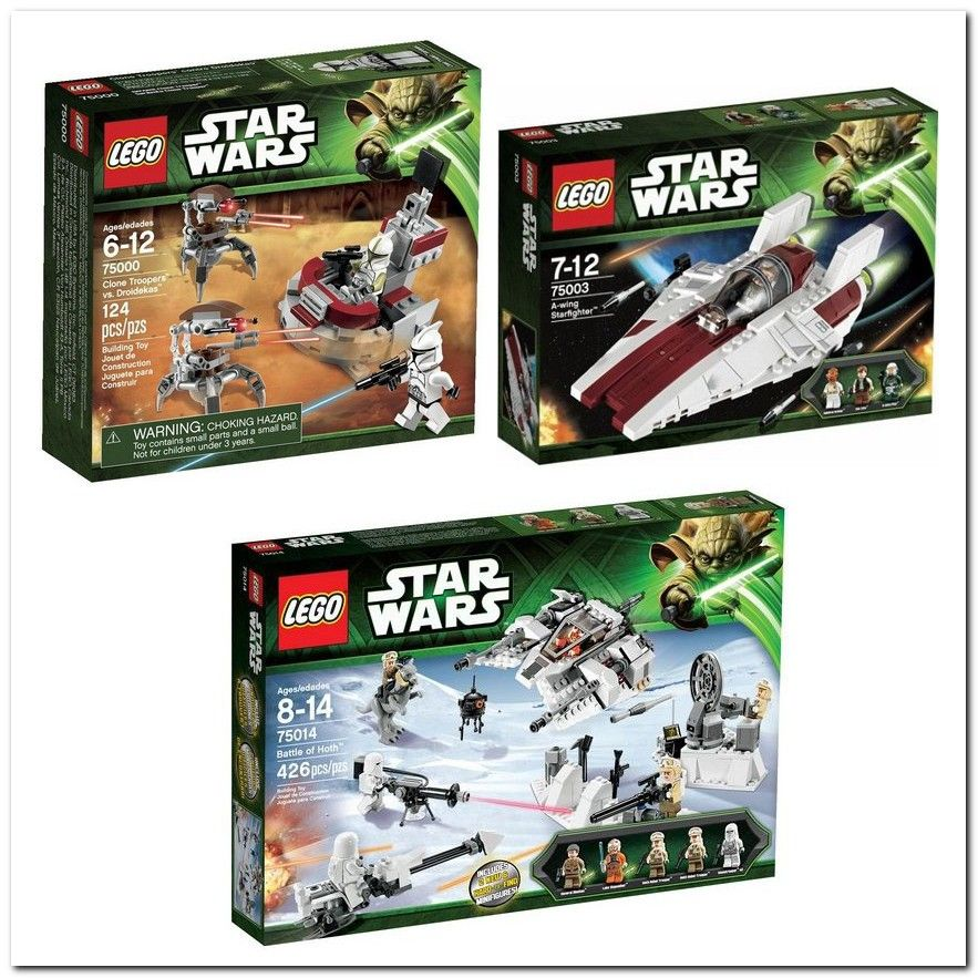 lego  a new star wars x super pack
