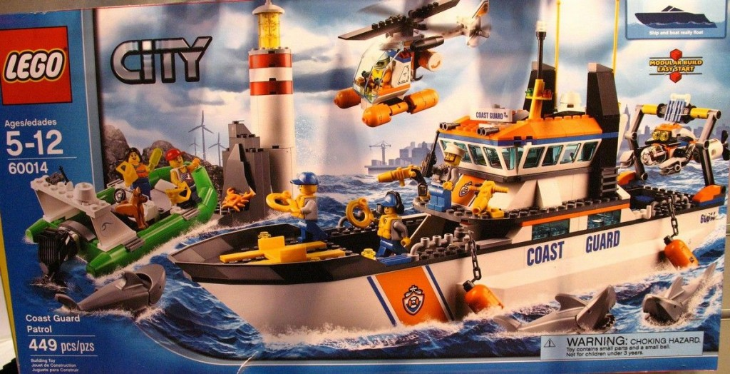 Lego 60014 Coast Guard Patrol city 4 1024x524 Lego 60014   Coast Guard Patrol