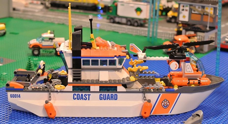 Lego 60014 Coast Guard Patrol city 5 Lego 60014   Coast Guard Patrol