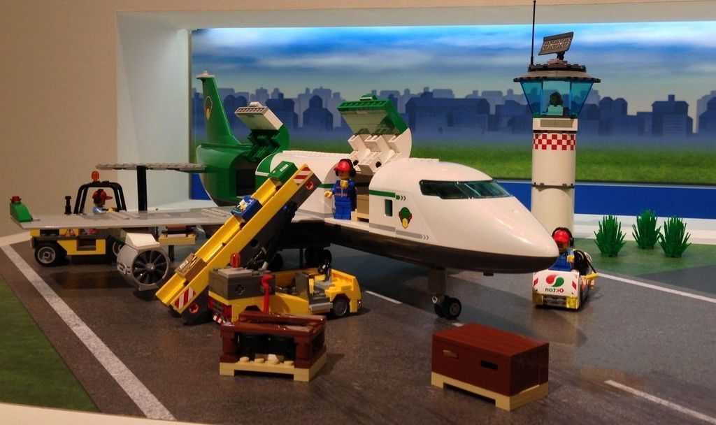 Lego 60022 Cargo Terminal Updated I Brick City
