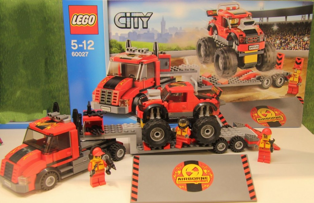 Lego 60027 Monster Truck Transporter city ibrickcity 3 1024x662 Lego 60027   Monster Truck Transporter