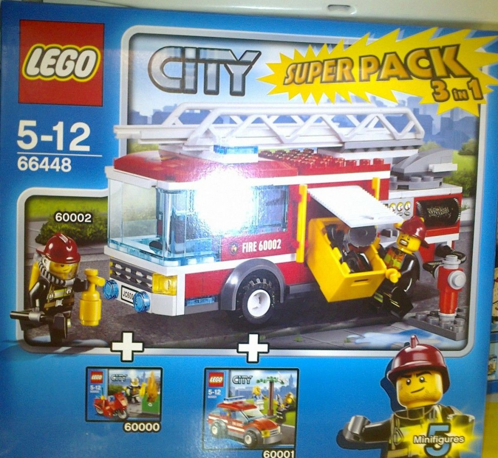 lego 66448 a new city super pack i brick city. Black Bedroom Furniture Sets. Home Design Ideas