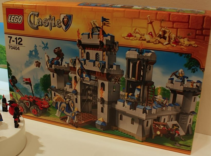 Lego 70404 Kings Castle ibrickcity set box Lego 70404   Kings' Castle