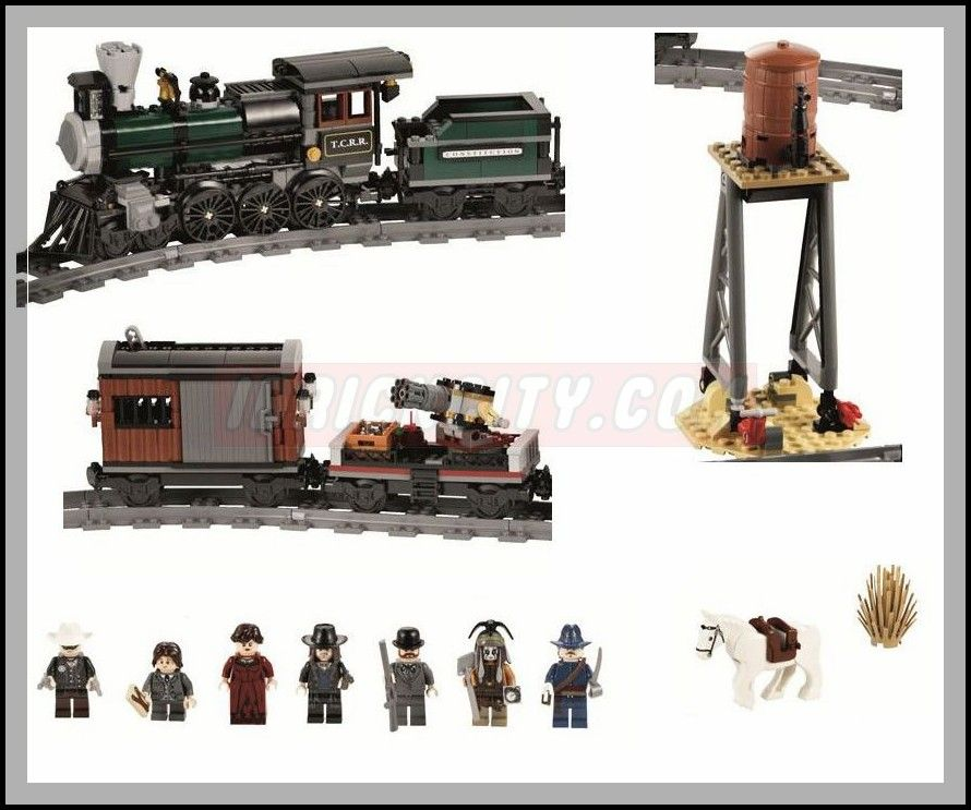 Lego 79111 Constitution Train Chase the lone ranger 6 Lego 79111   Constitution Train Chase
