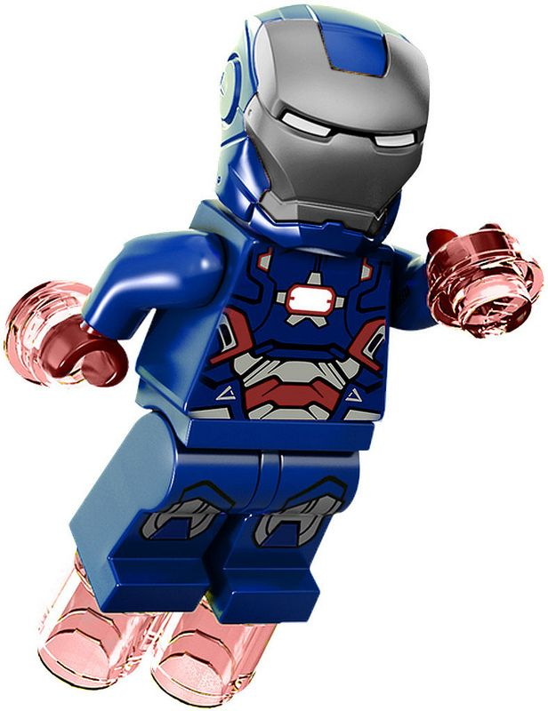 lego mini figure Iron Patriot super heroes Iro