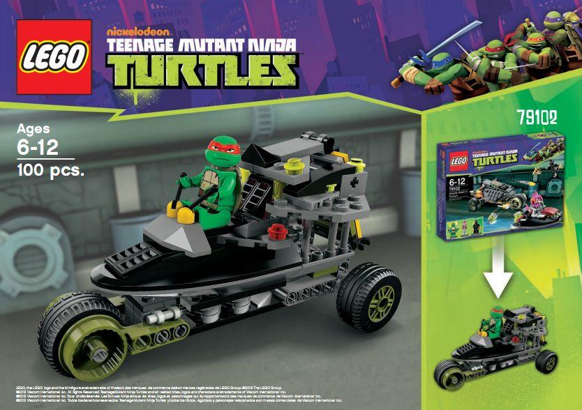 Lego Teenage Mutant Ninja Turtles Five Alternative Building