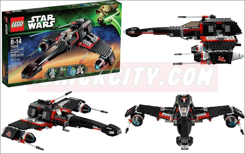 Jek-14's ™ Stealth Starfighter | LEGO Shop