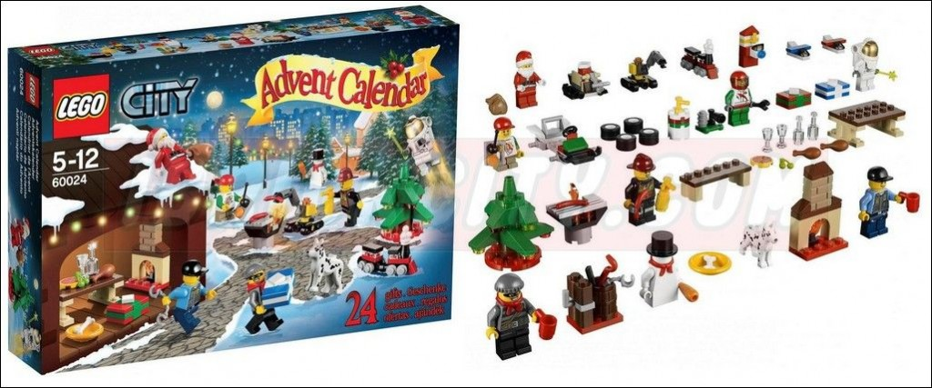 lego 60024 advent calendar 2013 city 1024x427 Lego 60024 – City Advent Calendar