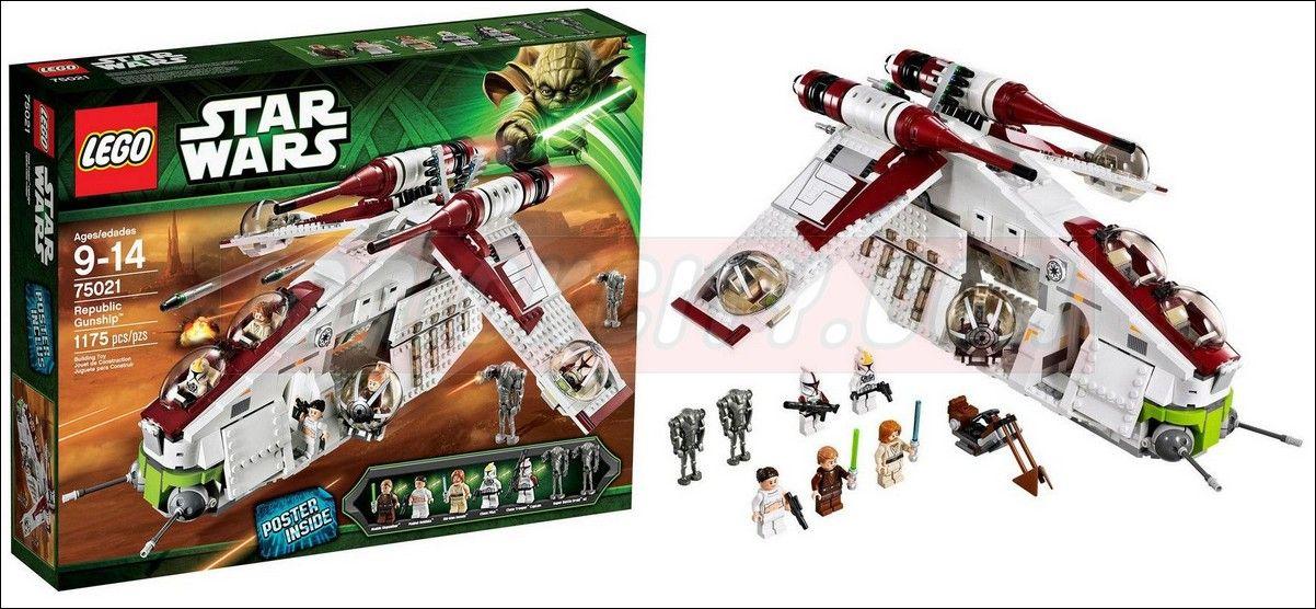 Lego Star Wars Republic Gunship 75021 Lego 75021 – Republic Gunship
