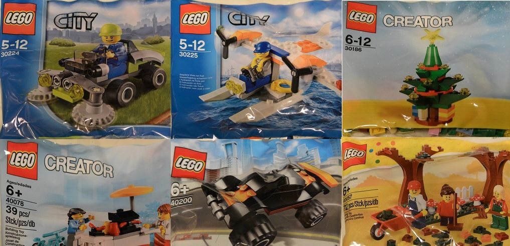 Lego Polybags Seven New Releases I Brick City