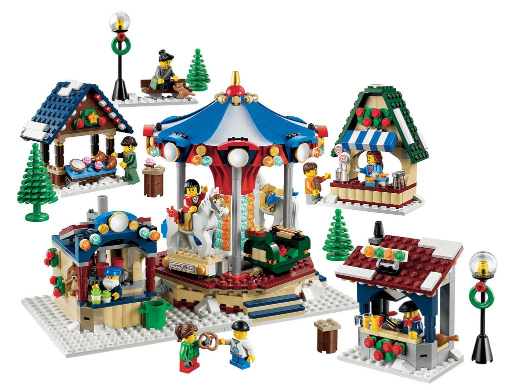 Lego 10235 Winter Village Market I Brick City