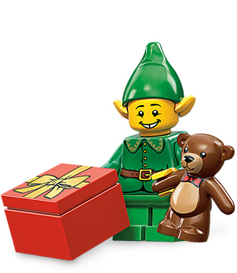 lego mini figures series 11 holiday elf Lego Mini figures Series 11: The Official Pictures