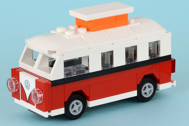 lego 40079 the mini vw t1 camper van polybag i brick city. Black Bedroom Furniture Sets. Home Design Ideas
