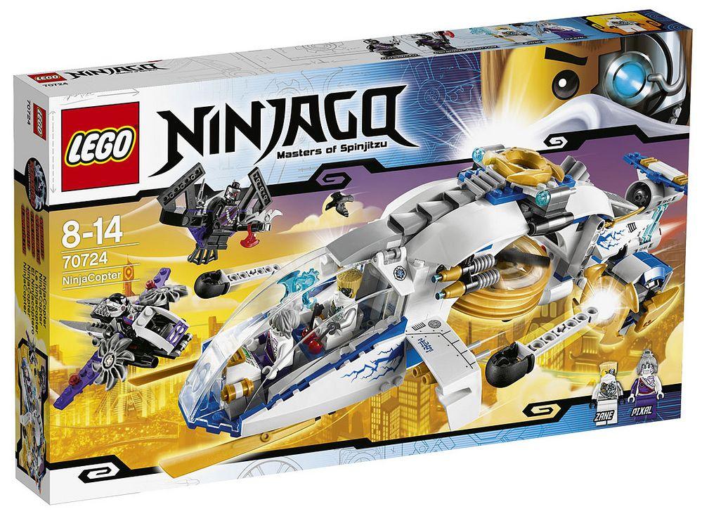 Lego 70724 NinjaCopter ninjago Lego 70724   NinjaCopter