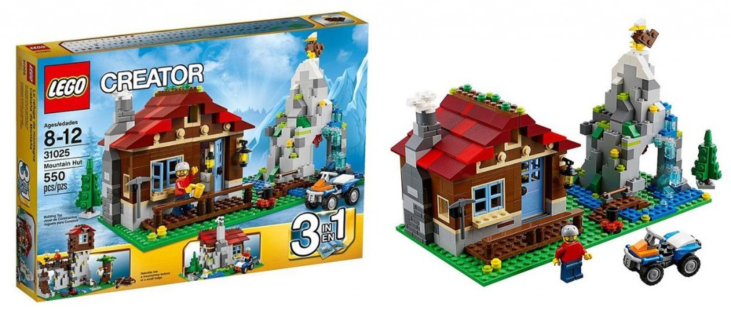 Lego 31025 Mountain Hut creator 2 1024x435 Lego 31025   Mountain Hut