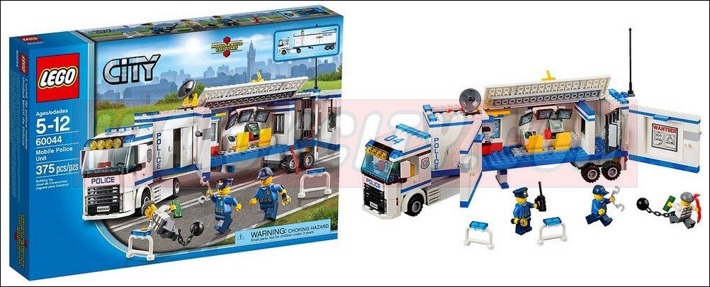 Lego 60044 Mobile Police Unit I Brick City