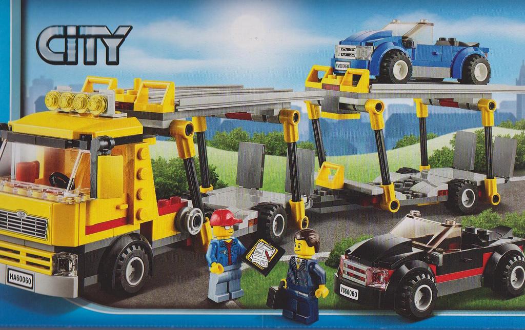 Lego 60060 Auto Transporter city Lego 60060   Auto Transporter