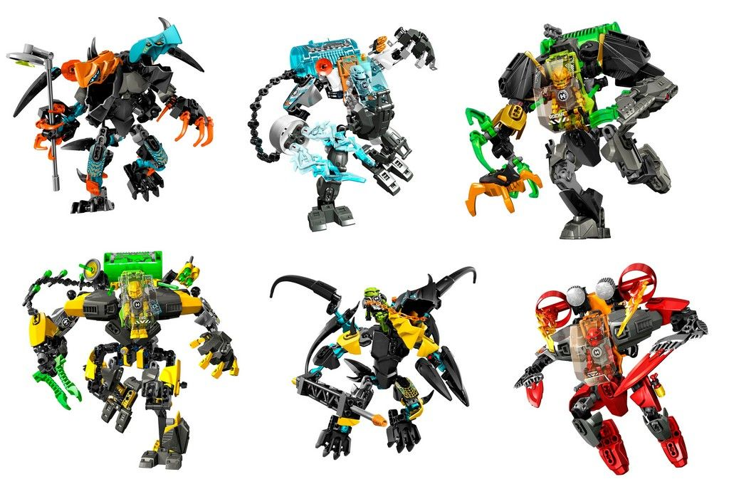 Lego Hero Factory Set Line | i Brick City