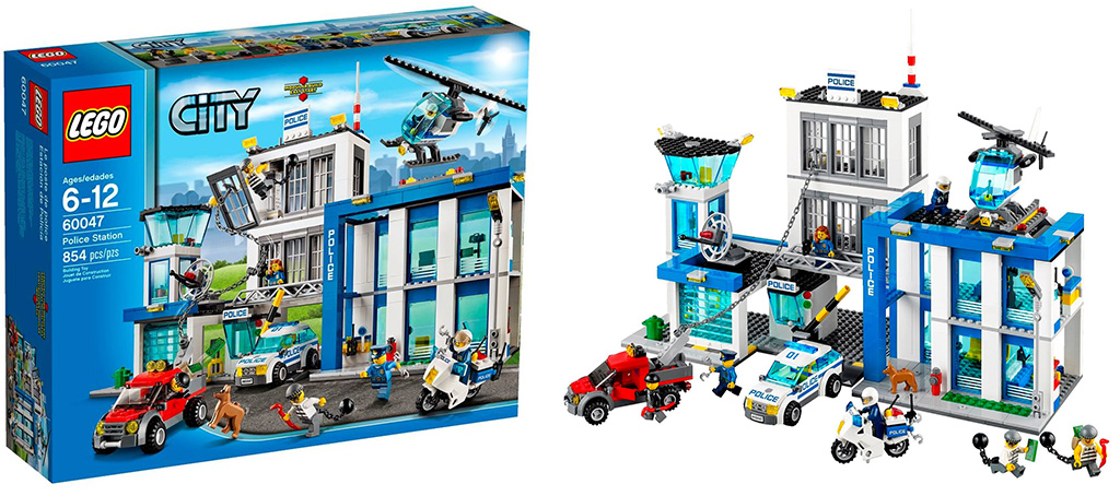 Lego 60047 Police Station city 7 Lego 60047   Police Station