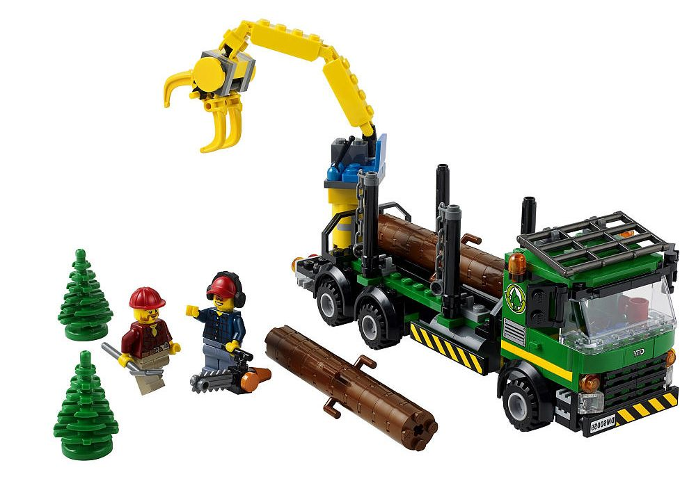 lego logging truck - photo #6