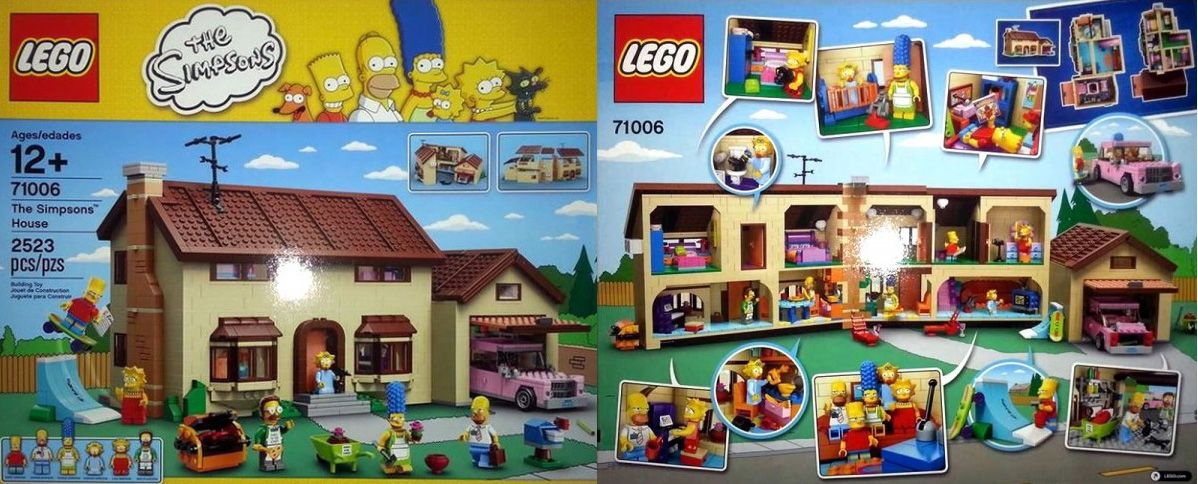 Lego 71006 The Simpsons House Updated With Official