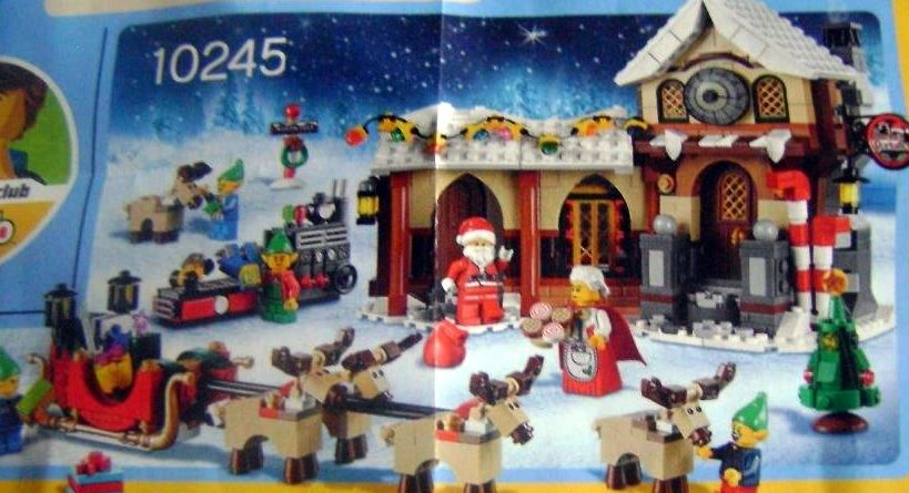 Lego 10245 – The first pic of the Santa's Workshop | i Brick City