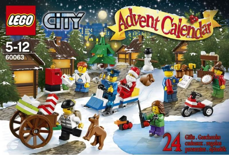 lego 60063 city advent calendar i brick city. Black Bedroom Furniture Sets. Home Design Ideas