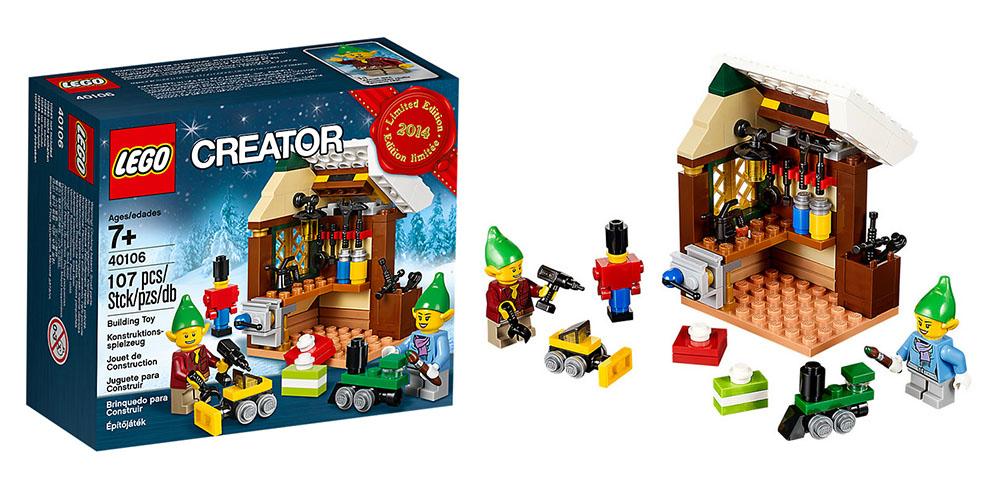 Lego 40106 – Elves Workshop   i Brick City