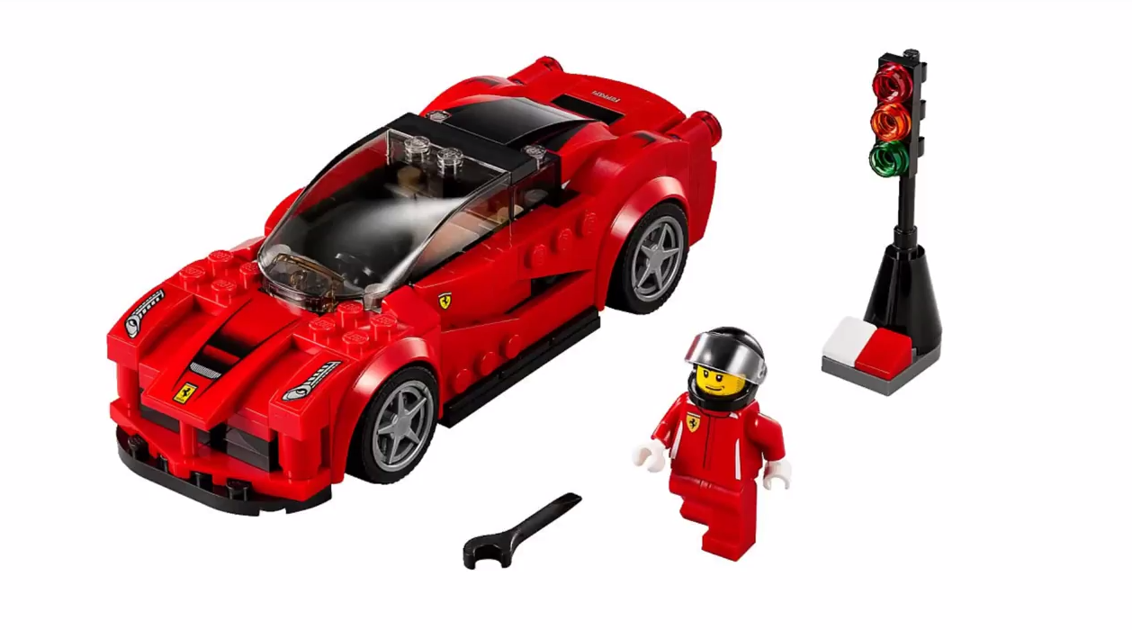 lego 75899 ferrari f150 i brick city. Black Bedroom Furniture Sets. Home Design Ideas