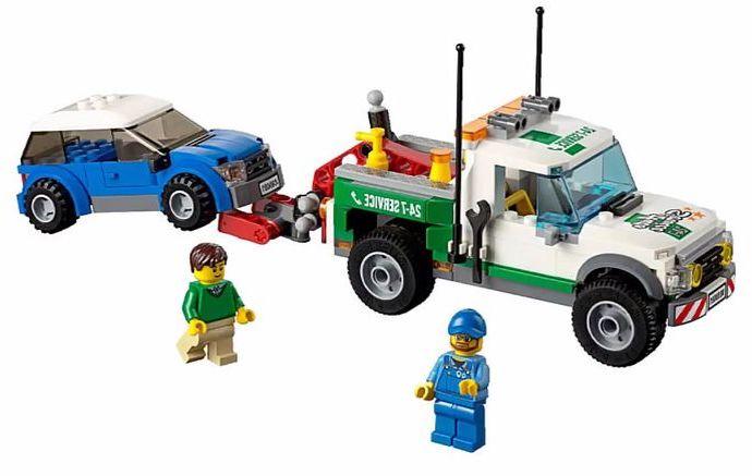 Lego 60081 – Pickup Tow Truck | i Brick City