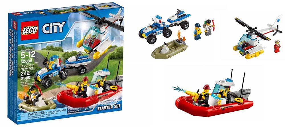 Lego 60086 City Starter Set I Brick City