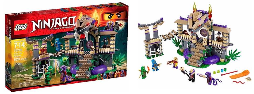 Lego 70749 enter the serpent i brick city - Serpent lego ninjago ...