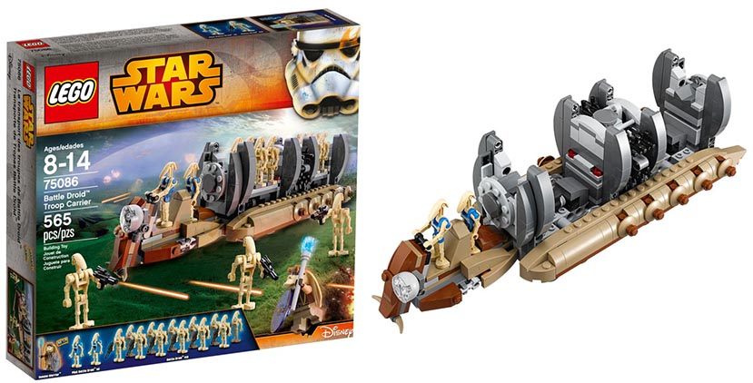 Lego 75086 – Battle Droid Trooper Carrier | i Brick City