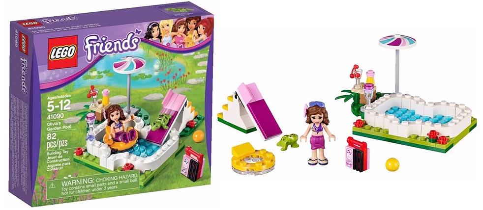 Lego 41090 u2013 Oliviau0026#39;s Garden Pool : i Brick City