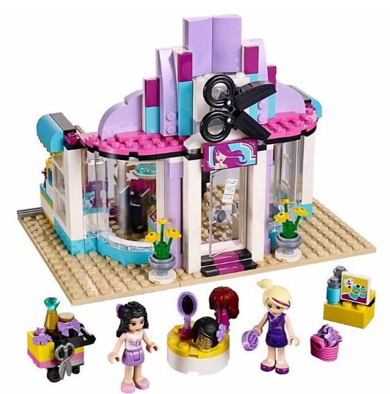 Lego friends peluqueria hair salon 41093 palermo z nort for Lego friends salon de coiffure
