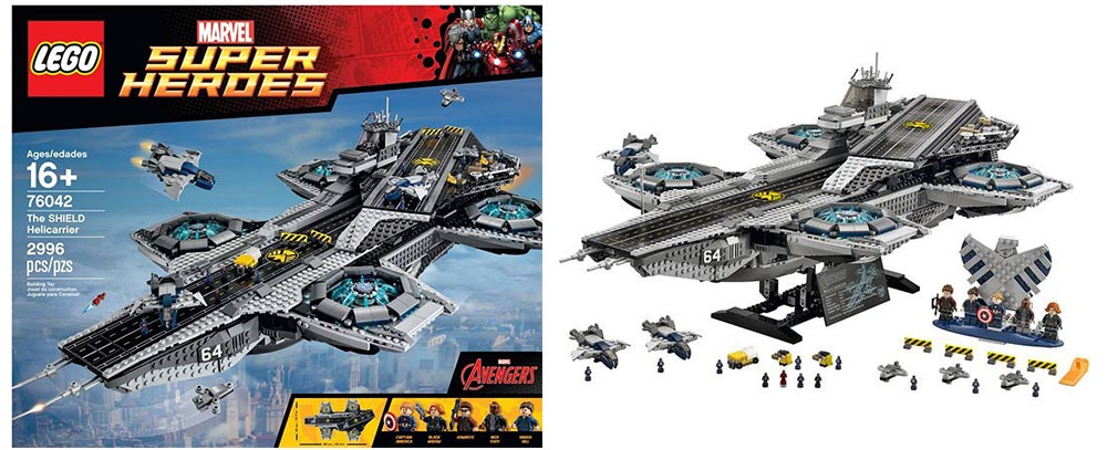 Lego 76042 – The SHIELD Helicarrier has been officially ...