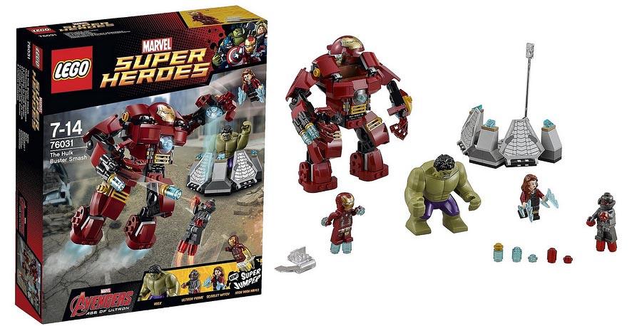 Lego 76031 hulkbuster rescue mission i brick city