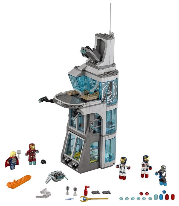 Lego 76038 – Attack on Avengers Tower