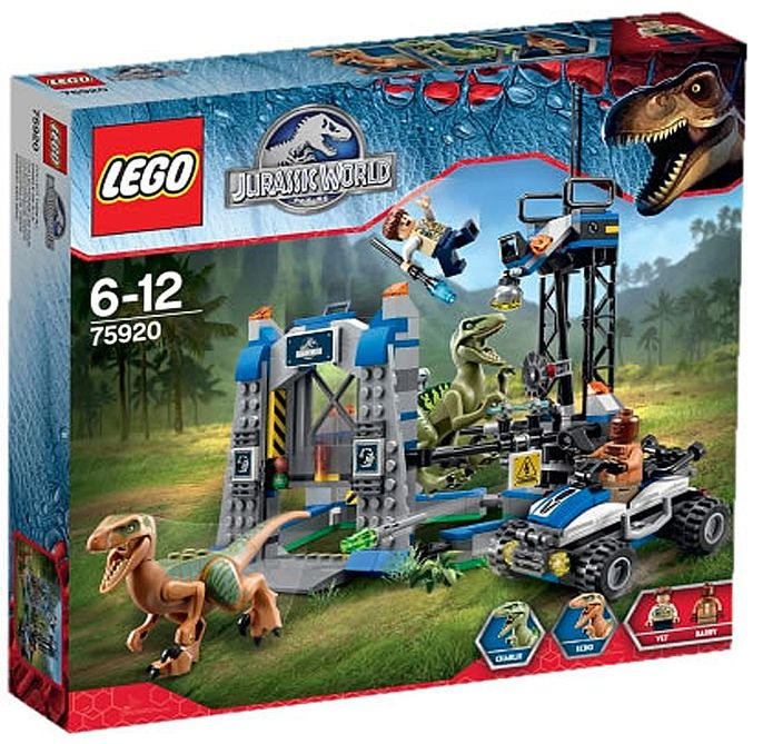 Lego 75920 Raptor Escape I Brick City