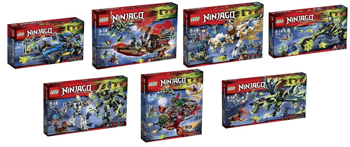 Lego Ninjago – Have a look at the Official Summer Set Boxes | i ...
