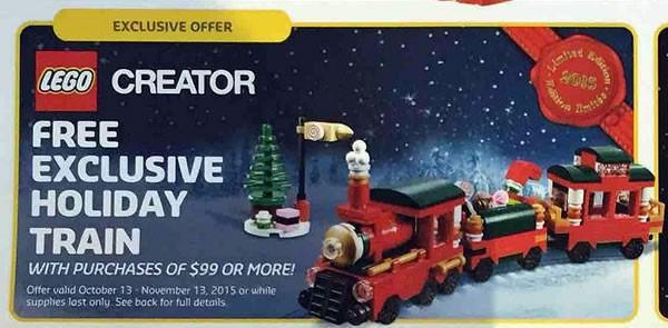 Lego 40138 – Holiday Train | i Brick City