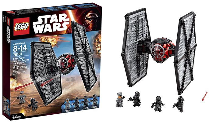 LEGO STAR WARS SET 30276 FIRST ORDER SPECIAL FORCES TIE FIGHTER
