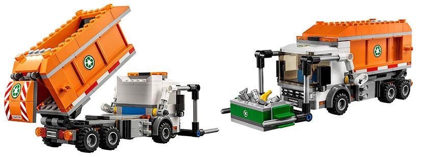 Lego-60018-Garbage-Truck-city-1