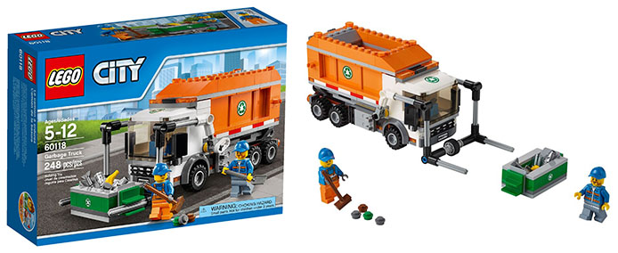 Lego-60018-Garbage-Truck-city